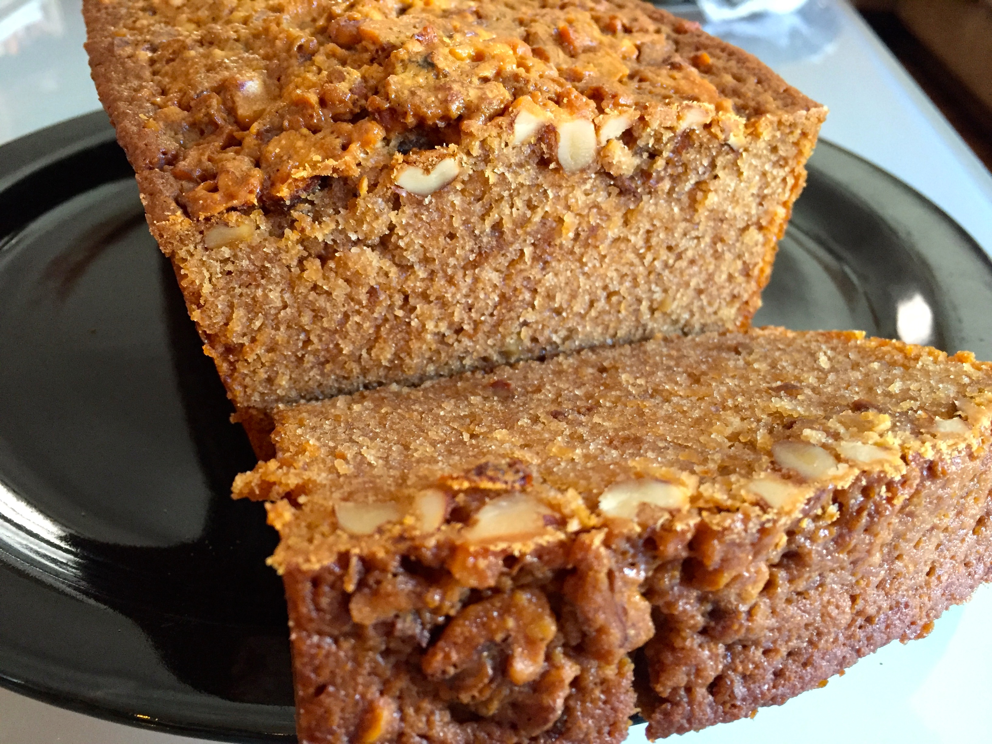 honey walnut quick bread loaf recipe baking