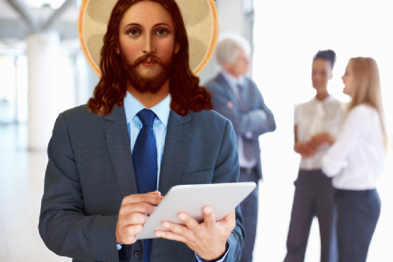 God and Jesus as a boss and manager