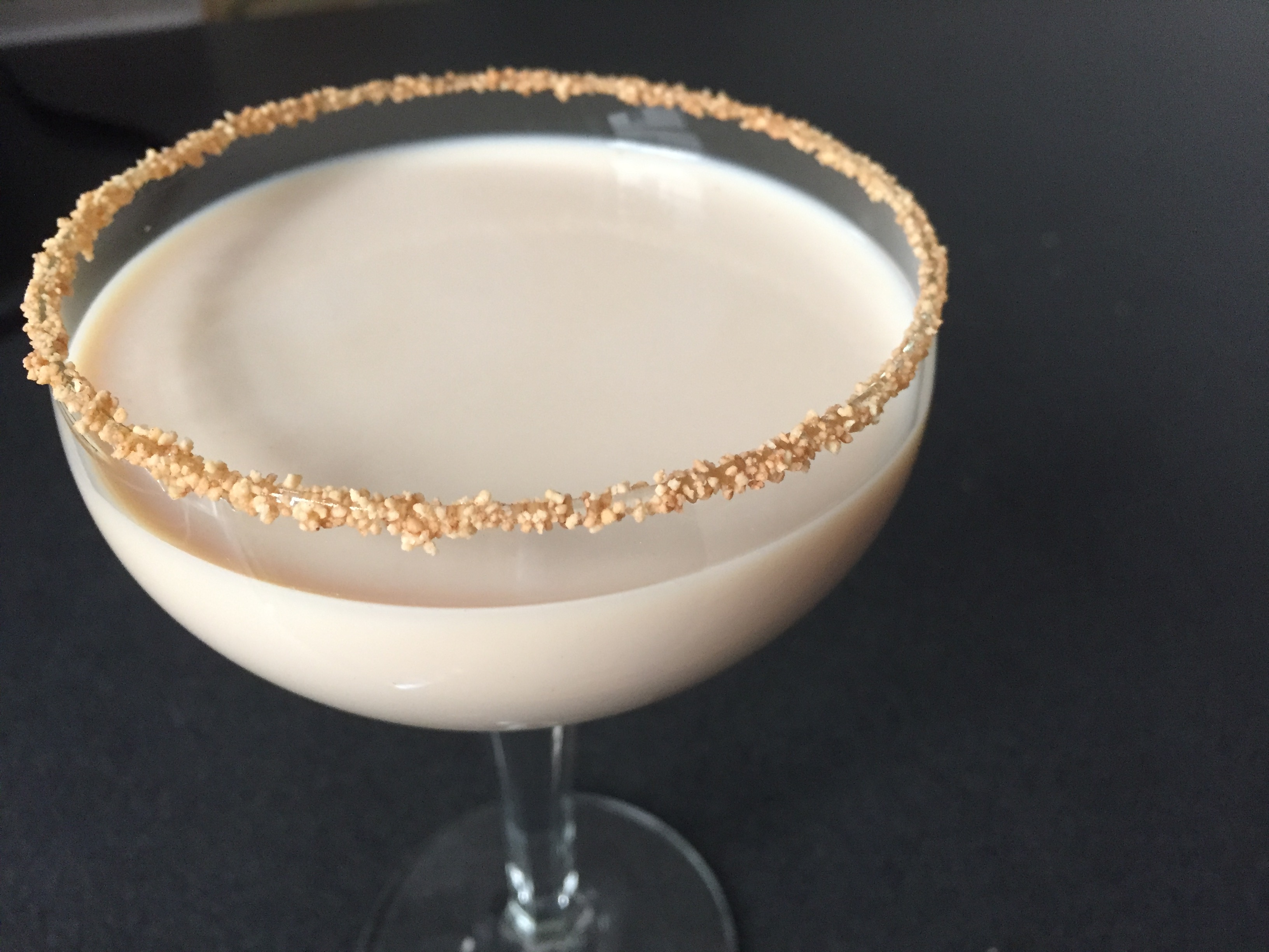 Churro Cocktail captain morgan spiced rum rumchata butterscotch schnapps
