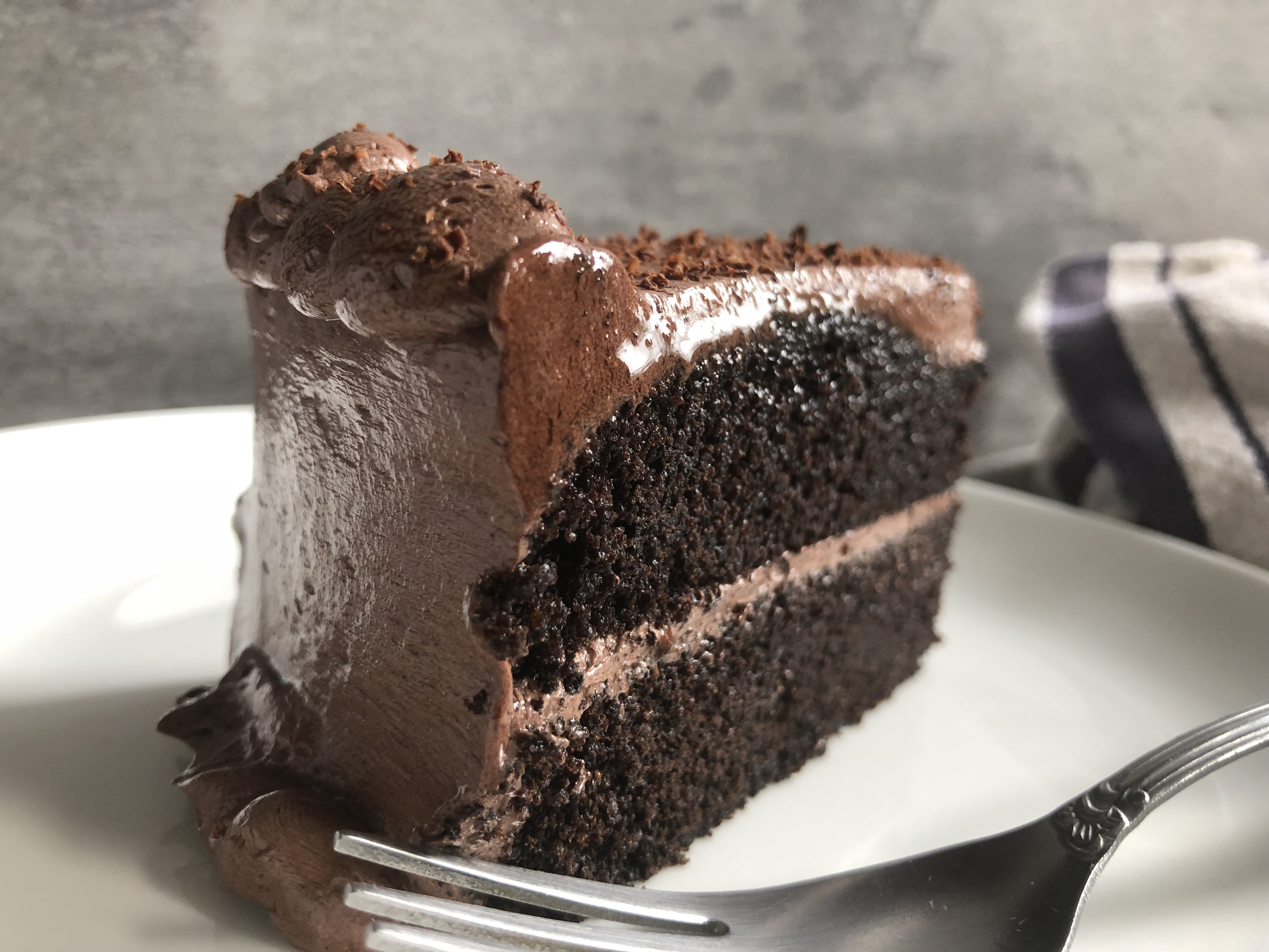 devils food cake with chocolate buttercream recipe