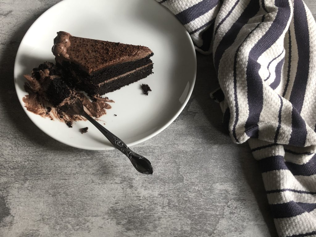 chocolate cake with chocolate buttercream recipe